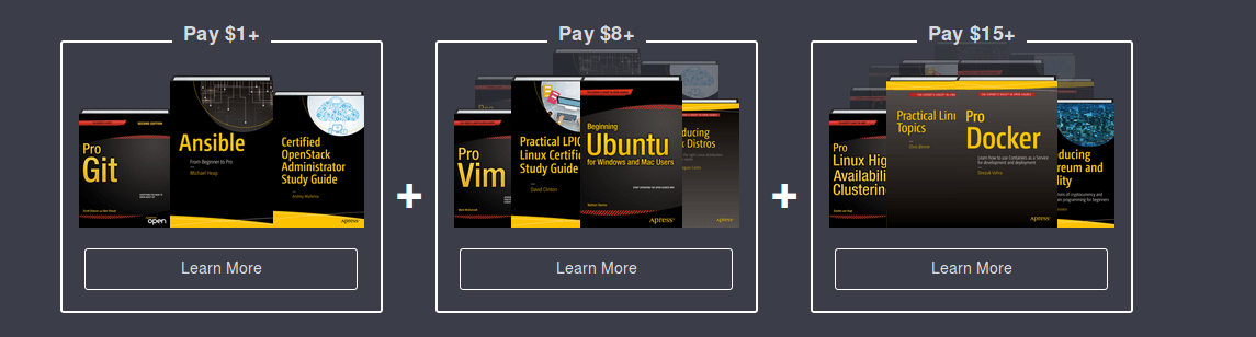 Humble Book Bundle Linux