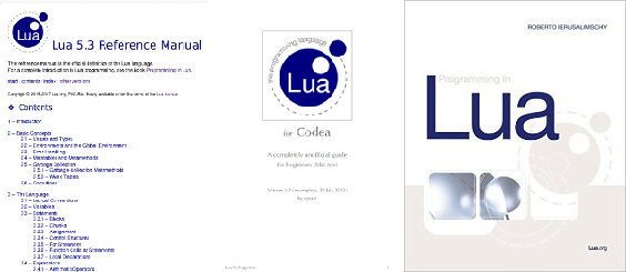 Free Lua Books