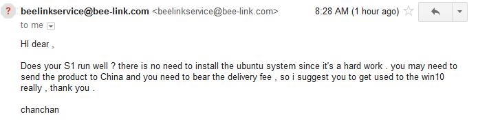 Beelink Technical Support