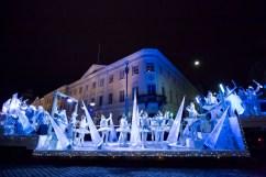 Helsinki, la via Aleksi con eventi natalizi, foto Hki Marketing