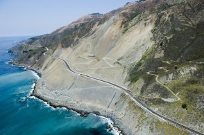 The Dream Drive celebrates the reopening of Highway 1, California's most epic road trip, Aug. 9, 2018, with a convoy of classic cars from Monterey to Morro Bay.
