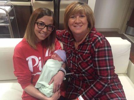 Kelley McKissack (sin.) e la madre Tracey Thompson
