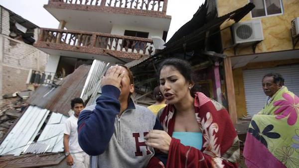 Il terremoto è stato il più violento all'equatore dal 1979
