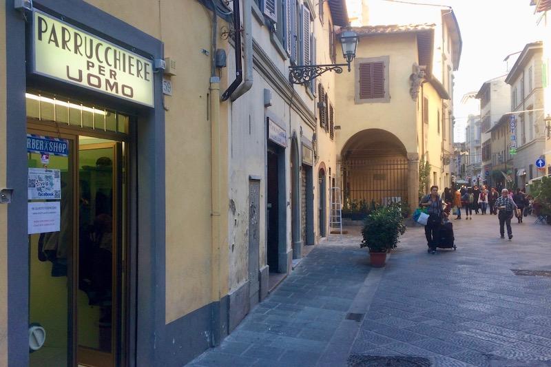 Via Faenza a Firenze