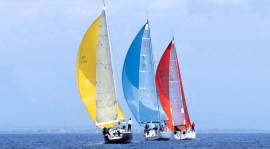 Imbarcazioni in gara durante una precedente edizione della regata livornese