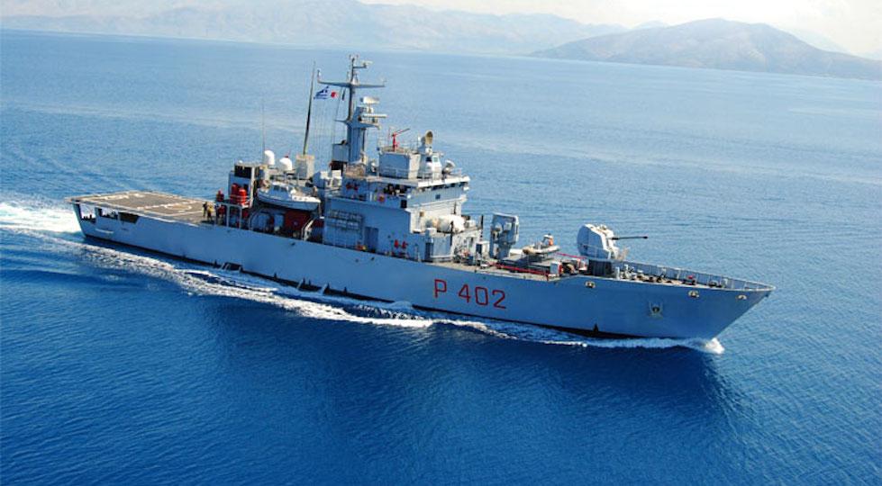 Nave Libra, il pattugliatore della Marina al centro della vicenda del naufragio di migranti siriani nel 2013 nel Mediterraneo (foto dal sito Marina Militare)