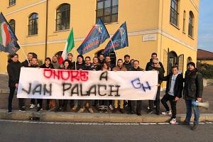 Gioventù nazionale ricorda JanPalach