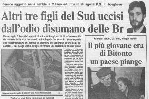 Milano ricorda gli agenti vittime dei brigatisti in via Schievano