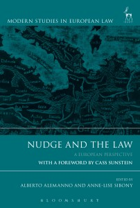 Publications. Nudge and the Law: A European Perspective