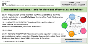 """Seminario internazionale """"Tools for Ethical and Effective Law and Policies"""""""