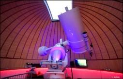 Grande telescopio Marcon RC f/8 da 80 cm