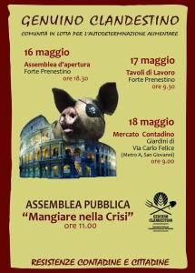 Genuino Clandestino roma 2014