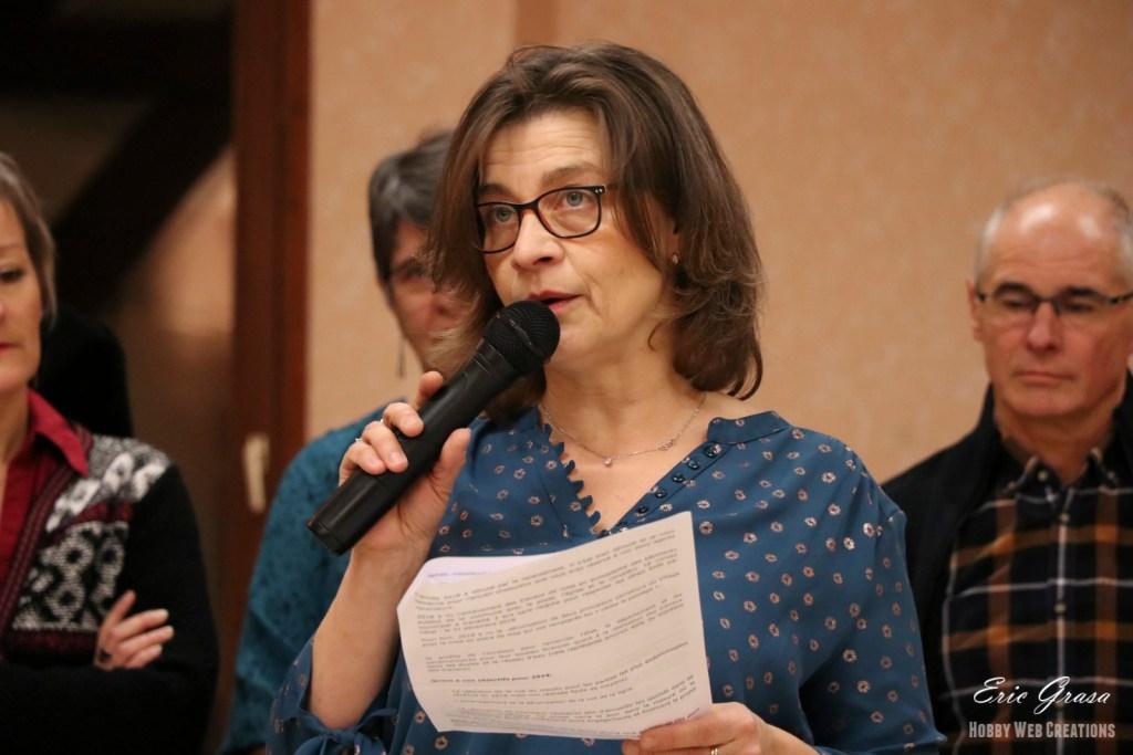 Mme TRIPIER Maire d'Ossey