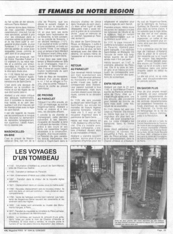 Article Héloïse et Abeilard page 2