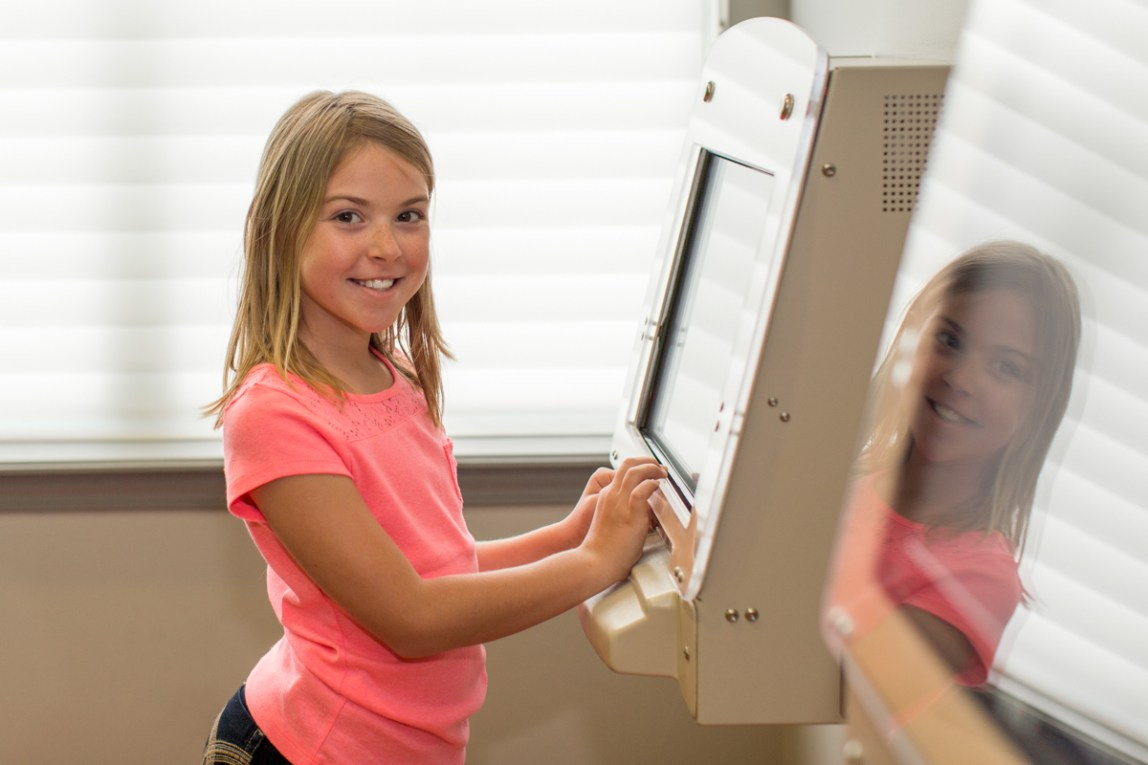 early treatment machine Ossi Orthodontics Jacksonville and St. Augustine Florida Orthodontist