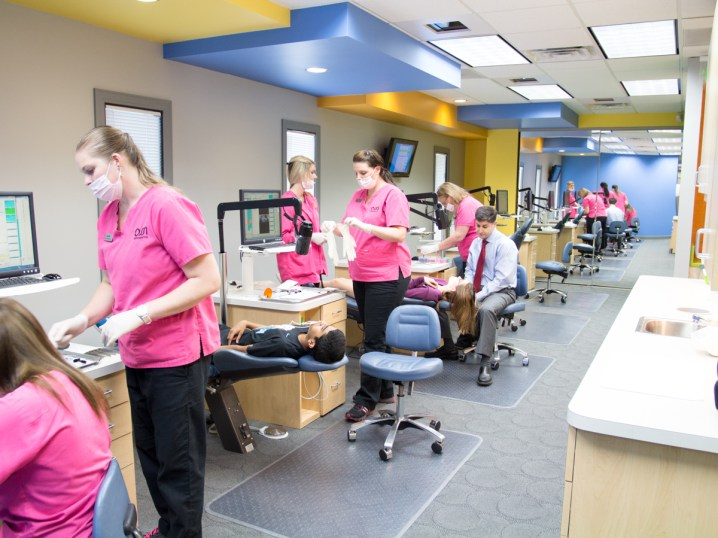 the team at work Ossi Orthodontics Jacksonville and St. Augustine Florida Orthodontist
