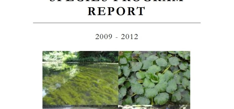 DES Releases Exotic Species Program Report