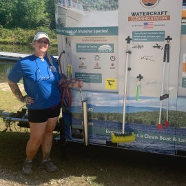 Ossipee Lake First to Test Waterless Boat Cleaning System