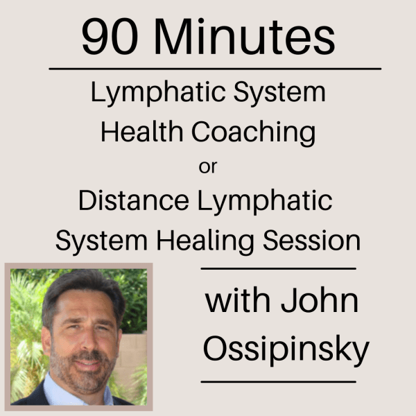 90 Minute Lymphatic System Health Coaching