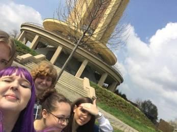 Selfie týmu - vodárna