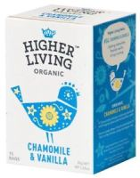 HIGHER LIVING ORGANIC CHAMOMILLE & VANILLA 15 KPL