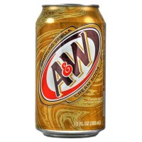 A&W ROOT BEER CREAM SODA 0,355L