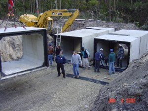 Commercial Construction Site Work Box Culvert