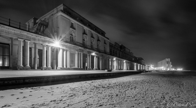 """My Hometown Oostende # 13 """"Thermae Palace by Night"""""""