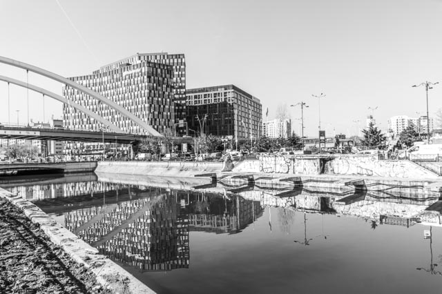 Monochrome Bucharest
