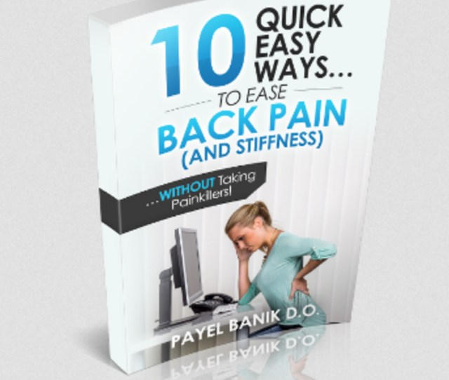 Get Your Free Back Pain Guide Click Here To Download It