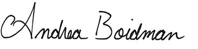 Andrea Boidman Signature