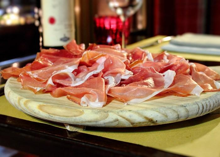 Menù Ricco Antica Osteria della Ghiaia Parma