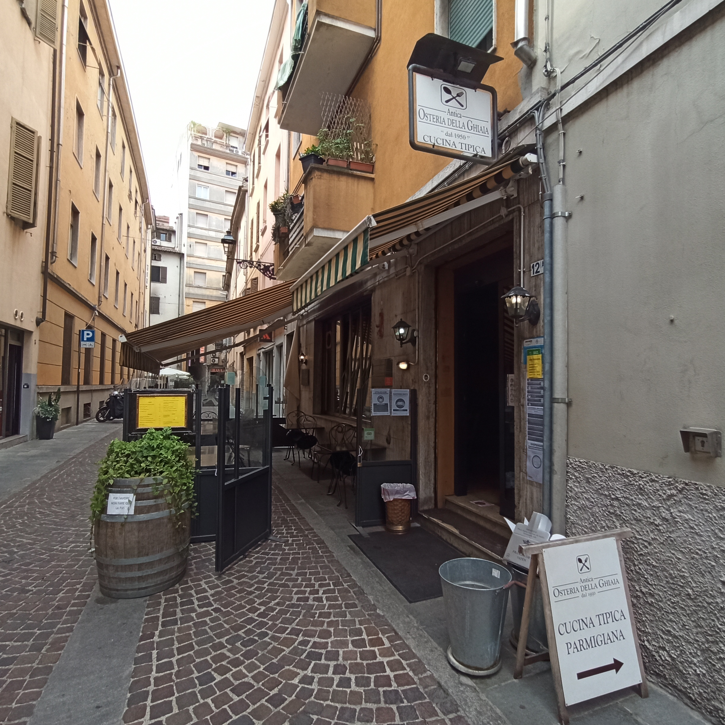 Eating Well in Parma.. and also Outdoors!