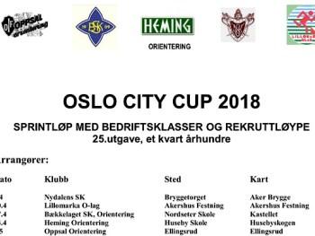 Permalink to: Påmelding Oslo City Cup