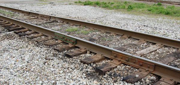 Short length of rail