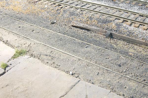 Buried track