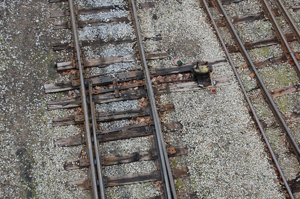 Switchpoints in Brookville yard