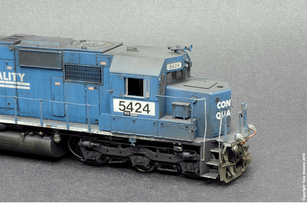 Tony Sissons SD 50 Engineers side finished Copyright Tony Sissons