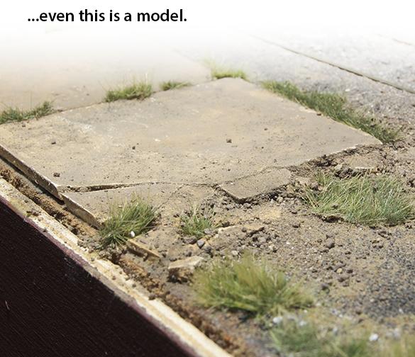 Concrete platform on the I&W