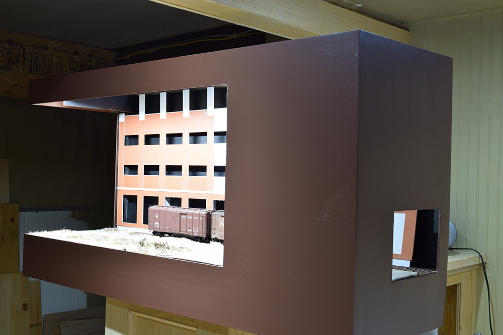13th and North E: a cameo layout in quarter-inch scale.
