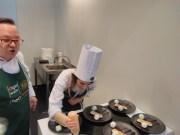 Michalina przygotowuje deser