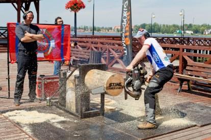 Jacek Groenwald - konkurencja Hot Saw