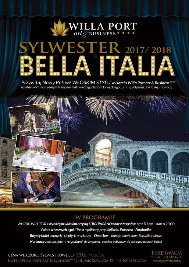 SYLWESTER BELLA ITALIA PLAKAT do wglądu