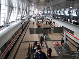 Train station at FRA