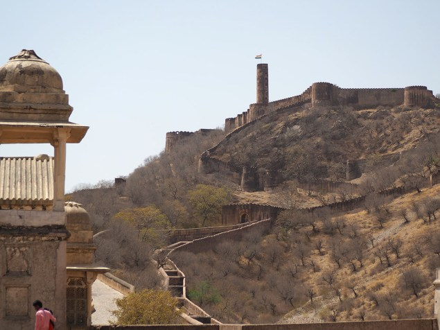 View of adjacent Jaigarh Fort