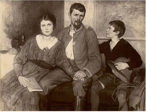 Die Münchner Künstlerfamilie Max