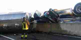 Incidente sulla superstrada Torre Spaccata 4