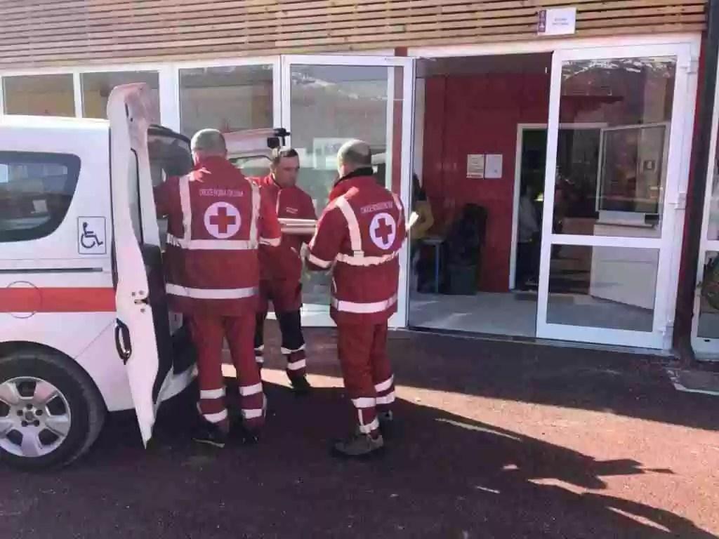 Croce Rossa ad Amatrice 4