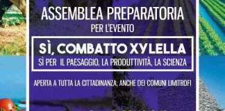 sì, combatto Xylella_riunione di preparazione alla mobilitazione di domenica 13 gennaio