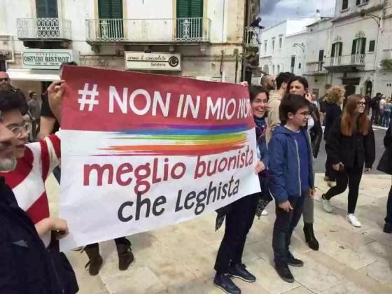 Matteo Salvini ad Ostuni